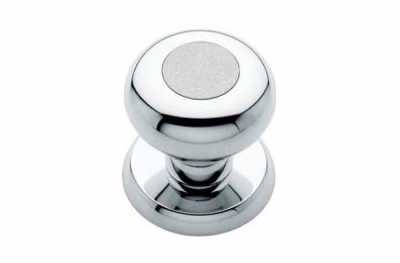 Elika 990 PT 060 Door Knob by Linea Calì of Modern Italian Design