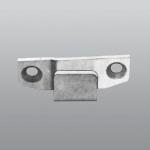 Mallorca striker plate to handle Right or Left Savio Galvanized Steel