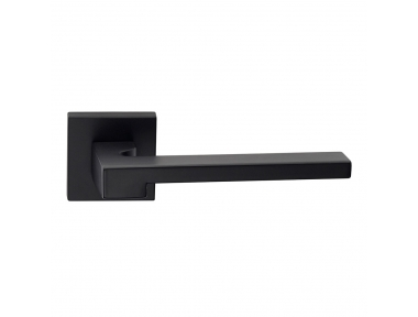 Ginevra Series Fashion forme Door Handle on Square Rosette Frosio Bortolo for Minimalist Architecture