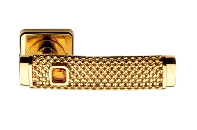 Gold Dream Jewellery PFS Pasini Door Handle with Rose and Escutcheon