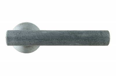 Juno Concrete Door Handle Color Graphite Design Award by Mandelli