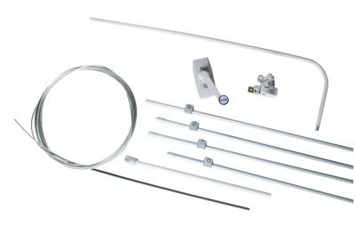 Complete Kit for Single Vasistas Ultraflex UCS Manual Opening Mechanism for Window