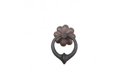 Handmade Furniture Handle Ring Galbusera 034 in Artistic Iron
