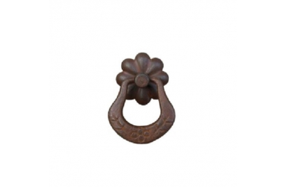 Handmade Furniture Handle Ring Galbusera 036 in Artistic Iron