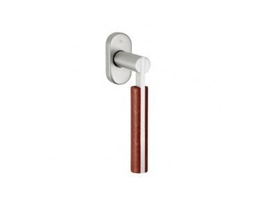 pba 2002.YOD.DK Handle for Windows in Wood and Stainless Steel AISI 316L