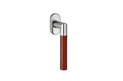pba 2003.YOD.DK Handle for Windows in Wood and Stainless Steel AISI 316L