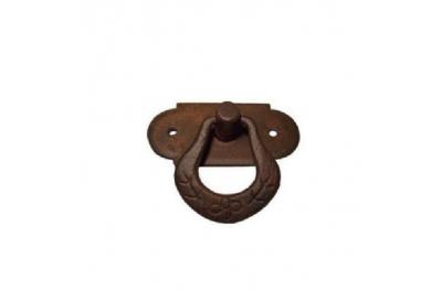 Furniture Handle Galbusera 038 Handmade Artistic Iron with Ring