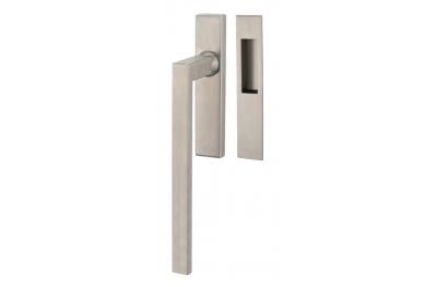 Lift & Slide handle Tropex Genève in Satin Steel