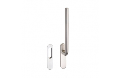 pba 2045 Window Handle in Stainless Steel AISI 316L