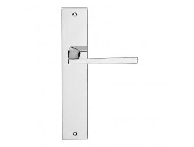 Mercury Series Fashion forme Door Handle on Plate Frosio Bortolo Luxury Style