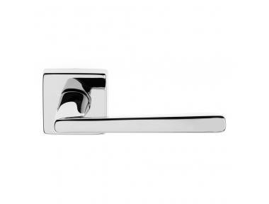Mercury Series Fashion forme Door Handle on Square Rosette Frosio Bortolo Luxury Style