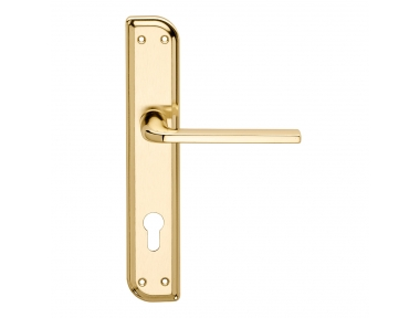Milly Series Basic forme Door Handle on Irregolar Plate Frosio Bortolo Modern Style