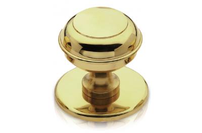 Mod 800 Brass Knob for Door PFS Pasini