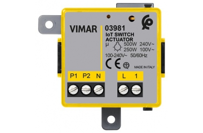IoT Connected Relay Module 03981 Vimar
