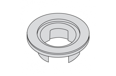 P1071 Plastic Rosette Accessory for PremiApri Knobs Serie Nova Meroni
