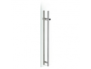 pba KLD-Y Pull Handle with Lock in Stainless Steel AISI 316L