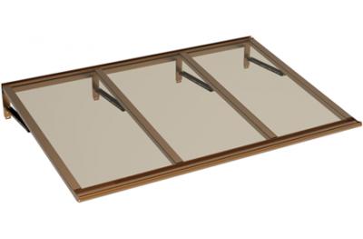 Shelter Lira Copper Bronze Aluminium AMA Sun Protection