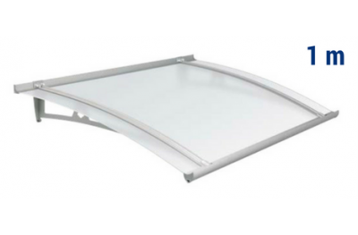 Newstyle Canopy NS-01 Neutral Satin Roof 1,00m Overhang Royal Pat Newentry