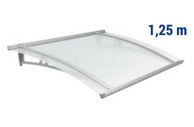 Newstyle Canopy NS-01 Neutral Satin Roof 1,25m Overhang Royal Pat Newentry