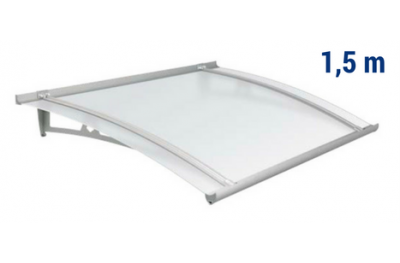 Newstyle Canopy NS-01 Neutral Satin Roof 1,50m Overhang Royal Pat Newentry