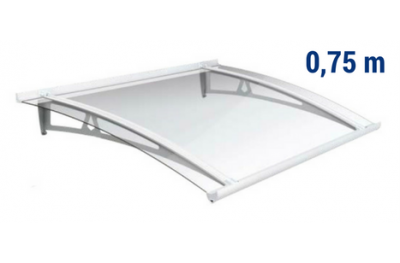 Newstyle Canopy NS-01 Transperent Roof 0,75m Overhang Royal Pat Newentry