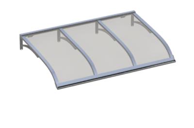 Shelter Vela Aluminium gray Aluminium AMA Sun Protection