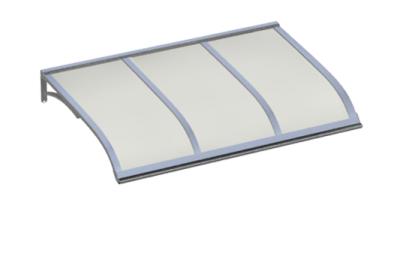 Shelter Vela Aluminium Opal Aluminium AMA Sun Protection