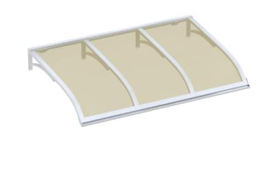 Shelter Vela White Bronze Aluminium AMA Sun Protection