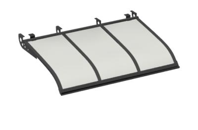 Shelter Sailing Style Attack Ceiling Grey Opal Aluminium AMA