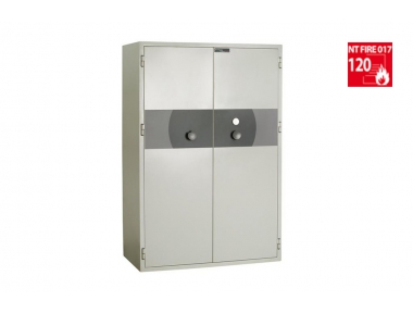 PK 400 MEDIA Bordogna Fireproof Armored Cabinet for Computer Support