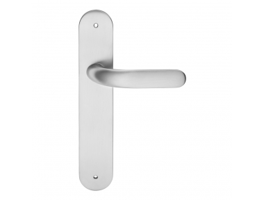 Point Door Handle on Plate With Elegantly Shape Linea Calì Design