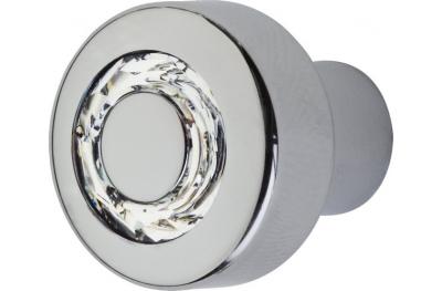 Cabinet Knob Linea Calì Cosmic Crystal CR with Swarowski® Jet