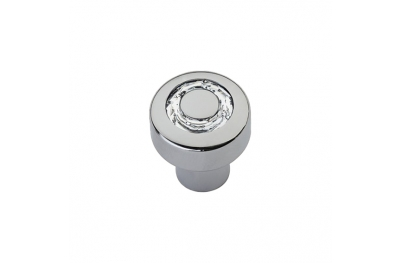 Cabinet Knob Linea Calì Cosmic Crystal CR with Swarowski® Polished Chrome