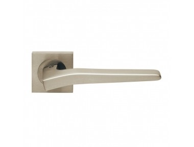 Preso Design Manital Satin Nickel Pair of Door Lever Handles