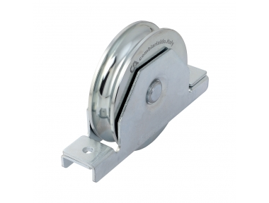 Wheel Round Groove 2 Bearings with Inside Support Sliding Gate Combiarialdo