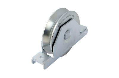 Wheel V Groove 2 Bearings with Inside Support Sliding Gate Combiarialdo