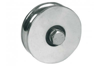 Wheel for Sliding Gates 1 Ball Bearing U Round Groove Ø20 IBFM