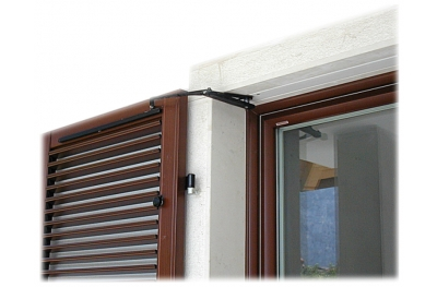 S TEL Double Shutters 80-115cm 230Vac Chiaroscuro Automation for Swing Shutters