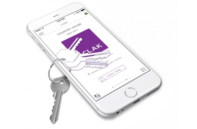 Sclak Access Control System Open the Lock with your Smartphone