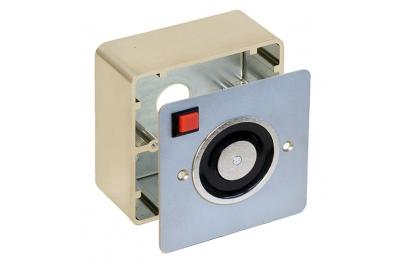 Kit Flush Wall Mount Hold Open Electromagnet + Box Opera
