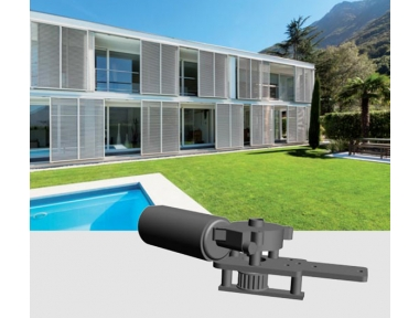 Slide 200 24Vdc Chiaroscuro Automation Kit for Sliding Shutters Max 300Kg