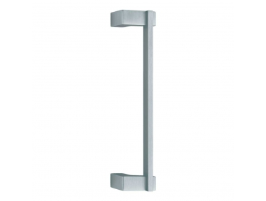Slim Door Pull Handle With Lateral Supporting of Modern Shape Linea Calì Design