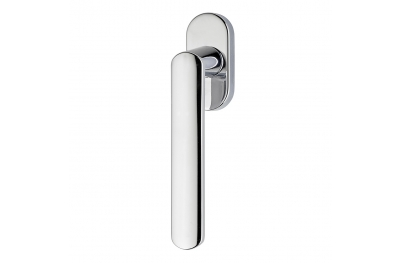 Solis Series Fashion forme Dry Keep Window Handle Frosio Bortolo Satin Chrome