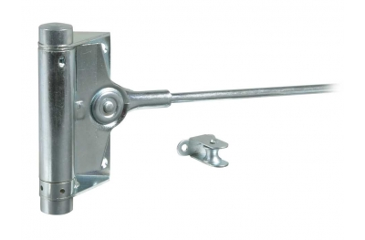 Spring Door Closer Triumph Type Central Articuled Arm Galvanized Steel IBFM