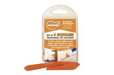 SPS-4 Leveling Spatulas for Sealing Joints 4 Pieces Mungo