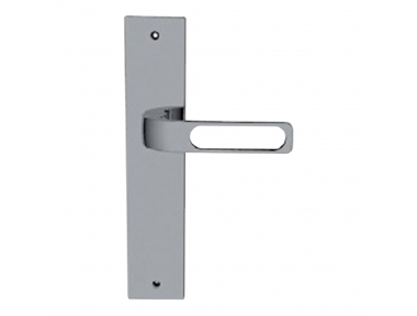 SUN 2 Qbe Collection Handle on Plate With Hole of Minimal Design Mariani Becchetti