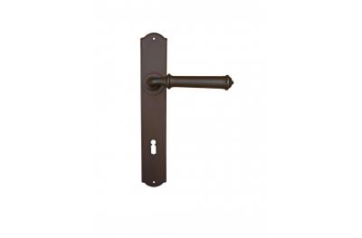 Tallin 2 Galbusera Door Handle with Plate