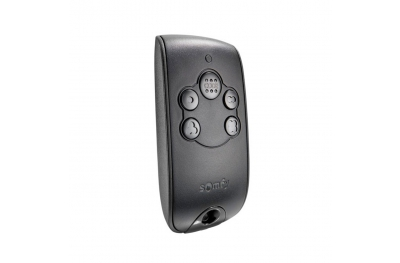 Somfy 4-Channel Radio Remote Control RTS NS Keytis for Gates and Garage Doors