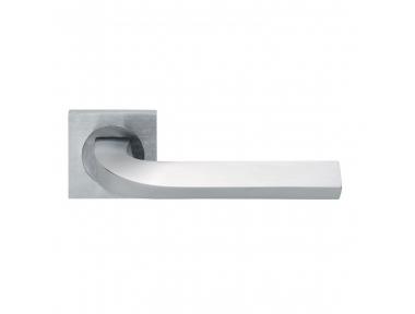 Trendy Design Manital Satin Chrome Pair of Door Lever Handles