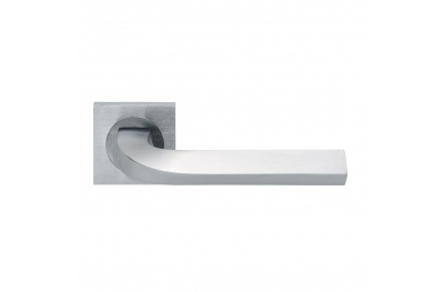 Trendy Design Manital Satin Chrome Pair of Door Lever Handles